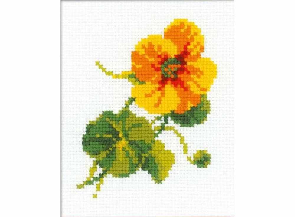 Набор для вышивания РИОЛИС Настурция, арт.137258 фото