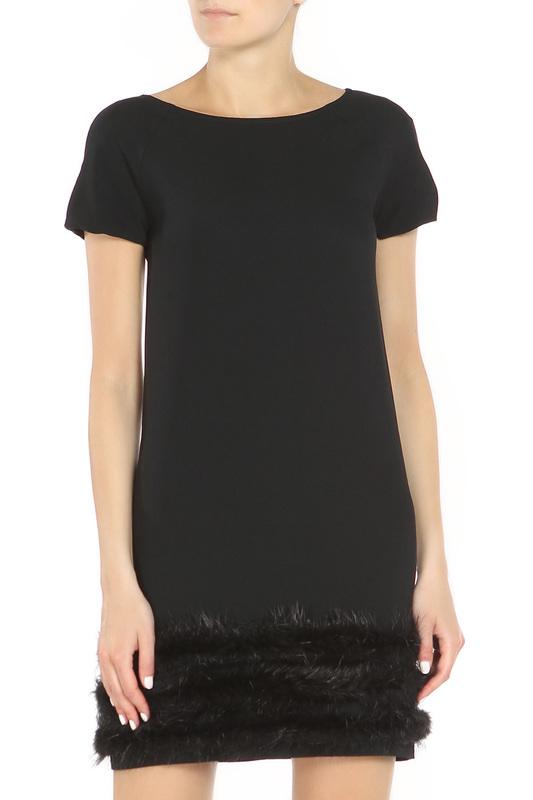 Платье женское Blugirl 2472/140 черное 42 IT фото