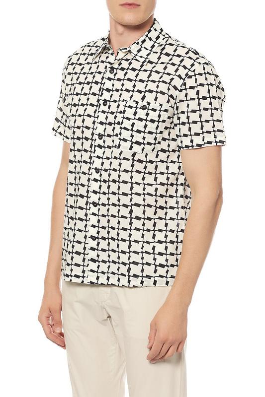 Сорочка мужская Velaner 3033-00A/1 белая 50 RU фото