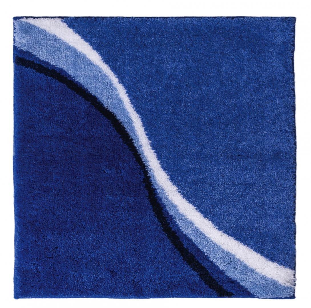 Коврик для ванной комнаты Barney синий 50*60