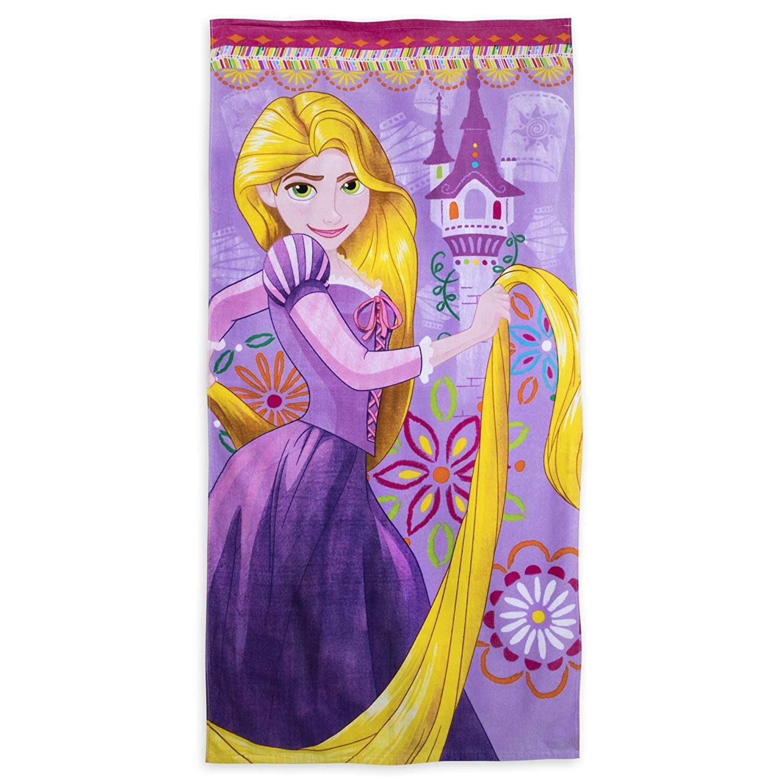 Пляжное полотенце Disney Princess Рапунцель 5986