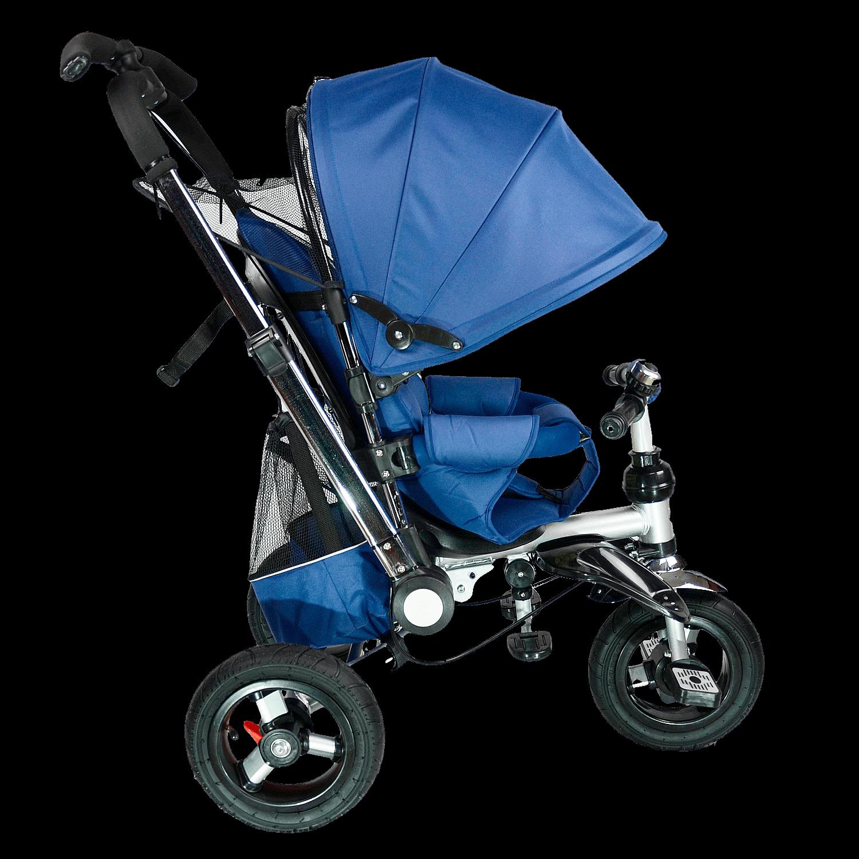 Купить Велосипед детский трехколёсный Farfello цв. синий TSTX010 5, Детские велосипеды-коляски