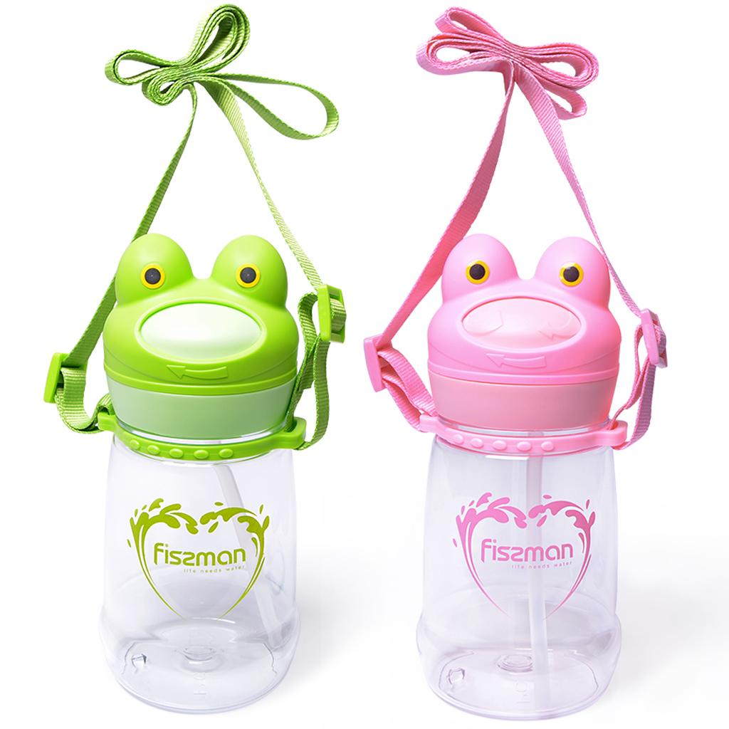 Бутылка для воды Fissman Лягушка 6854