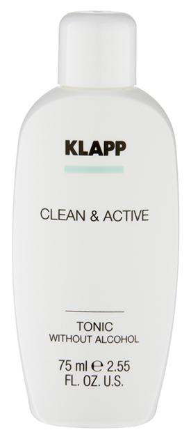 Купить Тоник для лица Klapp Clean & Active Без спирта 75 мл
