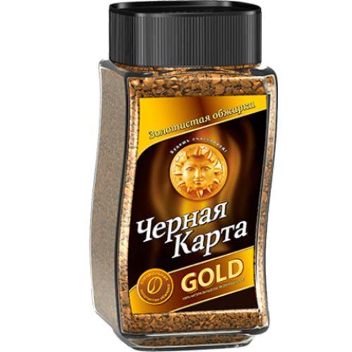 Кофе растворимый Черная карта gold  47.5 г