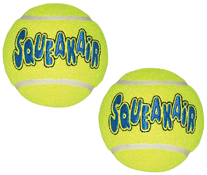 Апорт для собак KONG Теннисный мяч, желтый, длина 6 см, 3 шт