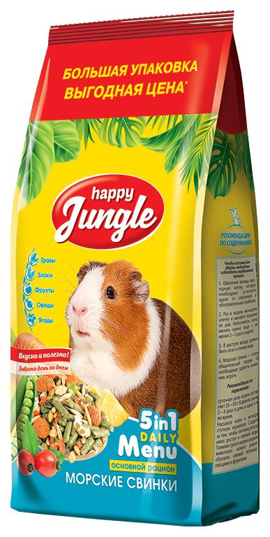 Корм для морских свинок Happy Jungle Happy