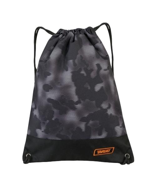 Купить Мешок Target для детской сменной обуви Mimetic черный, Мешки для обуви