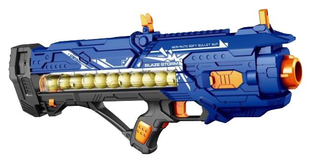 Купить Бластер электронный Наша игрушка с мягкими пулями 12, Бластеры