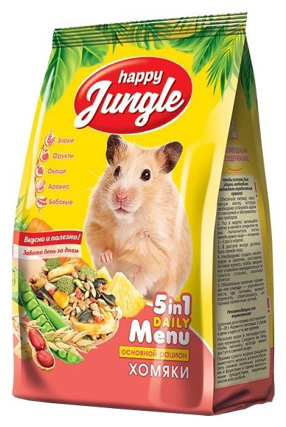Корм для хомяков Happy Jungle витаминизированный
