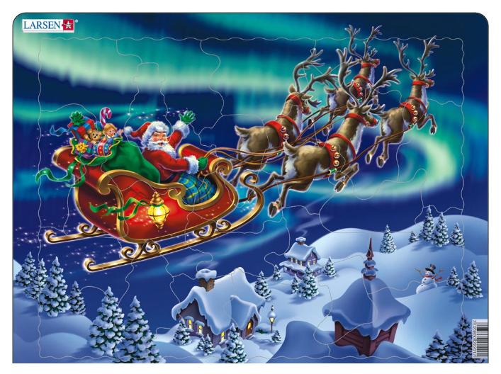 Купить Пазлы Larsen Санта-Клаус 26 элементов