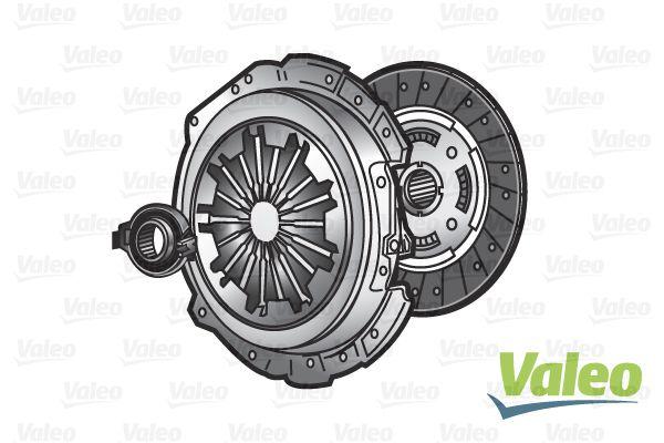 Комплект многодискового сцепления Valeo 009245