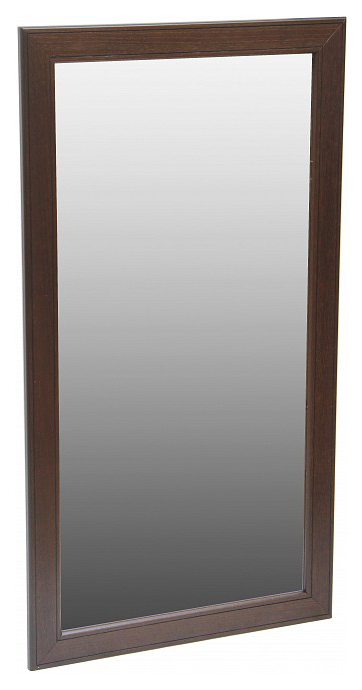 Зеркало Васко В 61Н темно коричневый/патина