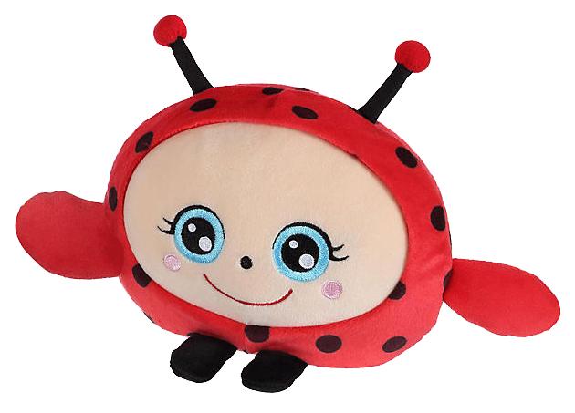 Купить Мягкая игрушка-антистресс 1Toy Squishimals Красная божья коровка 20 см, 1 TOY, Мягкие игрушки антистресс