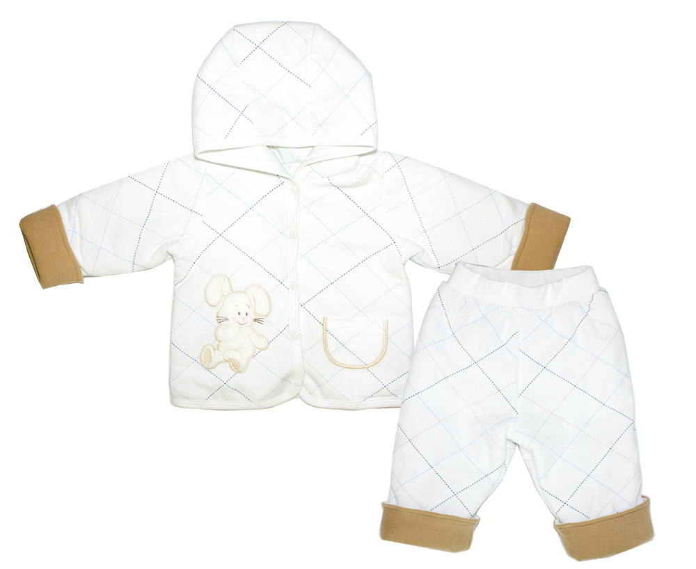 Комплект одежды Осьминожка, цв. бежевый р.74