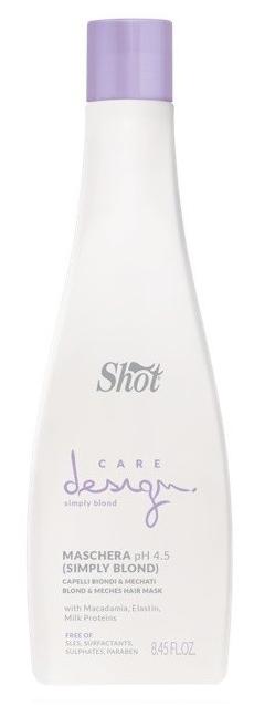 Маска для волос Shot Для осветленных и мелированных волос 250 мл
