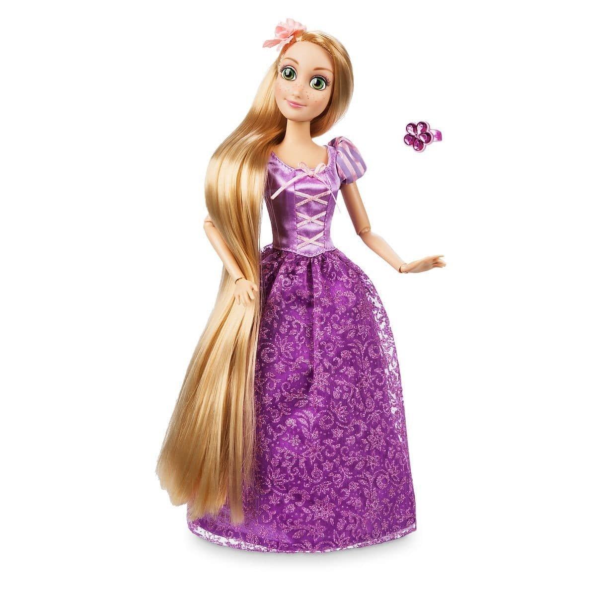 Купить Кукла Disney Рапунцель с кольцом 600107, Классические куклы