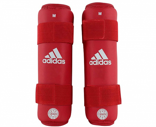 Защита голени Adidas WAKO Kickboxing Shin Guards красная M