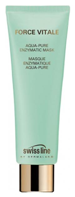 Маска для лица энзимная очищающая увлажняющая Swiss Line Force Vitale Aqua-Pure 75 мл