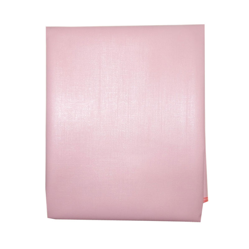 Наматрасник детский Папитто непромокаемый на резинке ПВХ 120х60 Розовый 060