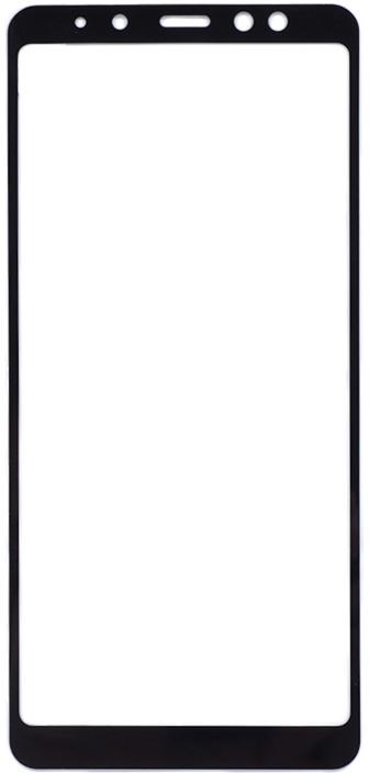 Защитное стекло GOSSO CASES для Samsung Galaxy A8 Plus Black