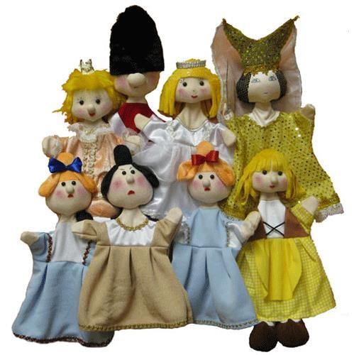 Игровой набор Тайга Кукольный театр Золушка 8 кукол