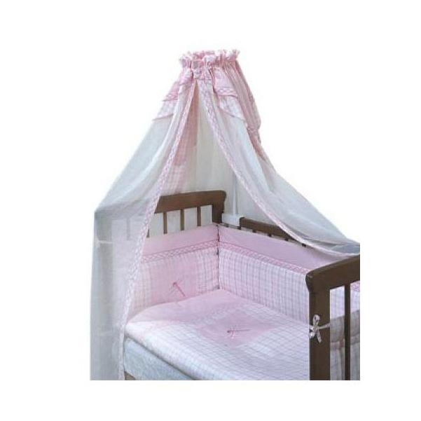 ЗОЛОТОЙ ГУСЬ Комплект в кроватку Антошка (цвет: розовый, 7 предметов) 1026