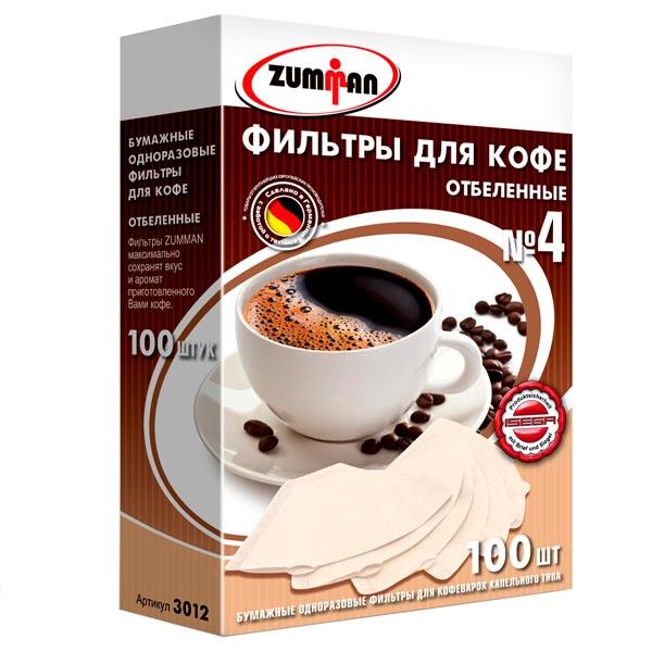 Фильтр универсальный для кофеварок Zumman 3012