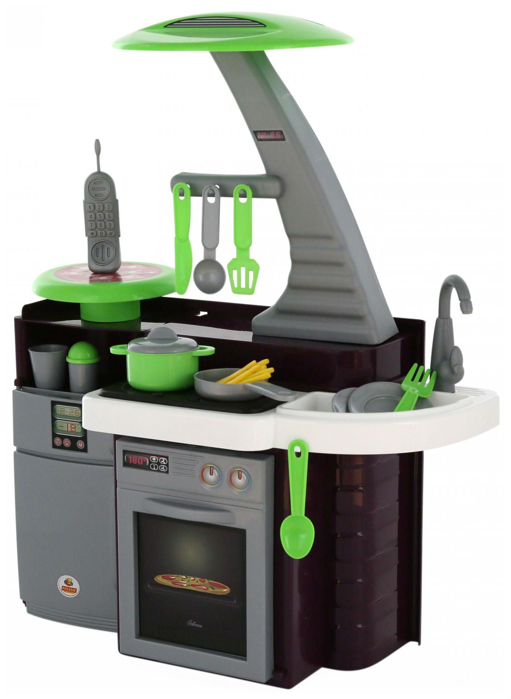 Игрушечные кухни, Детская кухня Coloma Laura С варочной панелью  - купить со скидкой