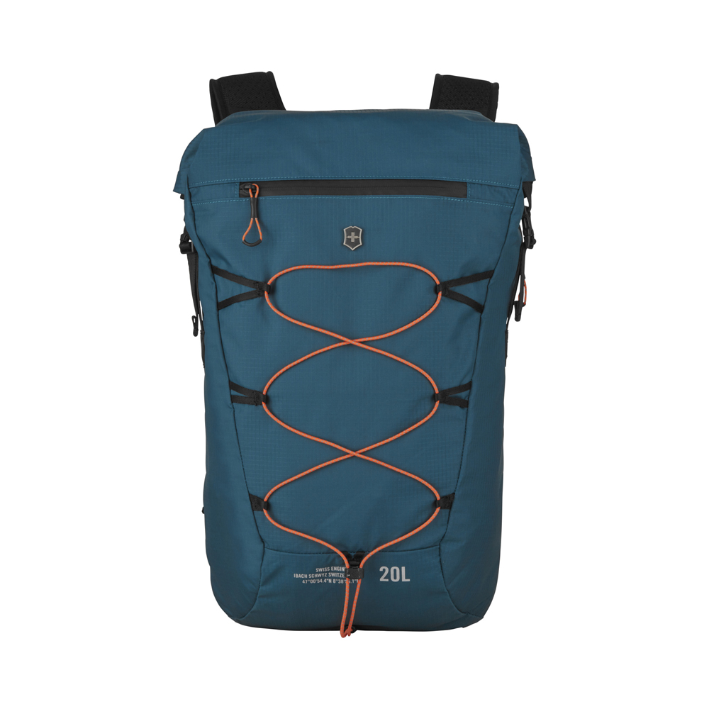 Рюкзак Victorinox 606901 Rolltop Backpack бирюзовый