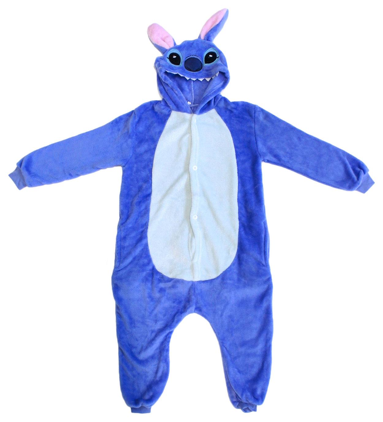 Пижама-кигуруми Lilkrok Синий Стич 96-105 см фото