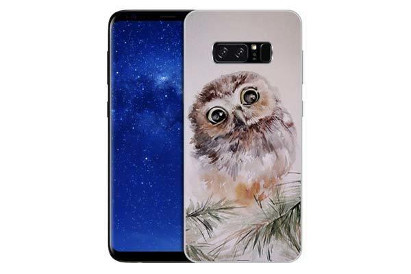 Чехол Gosso Cases для Samsung Galaxy Note 8 «Совенок»
