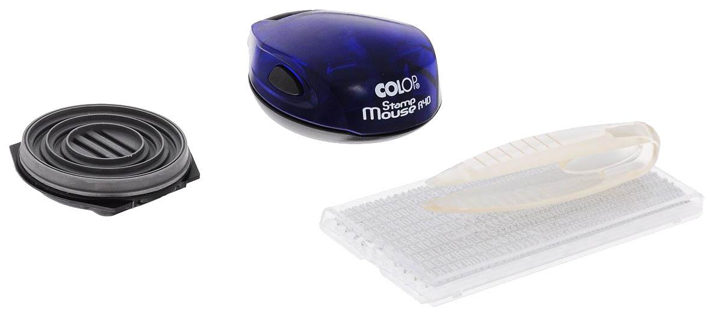 Самонаборная печать Colop Stamp Mouse R40/2 Set