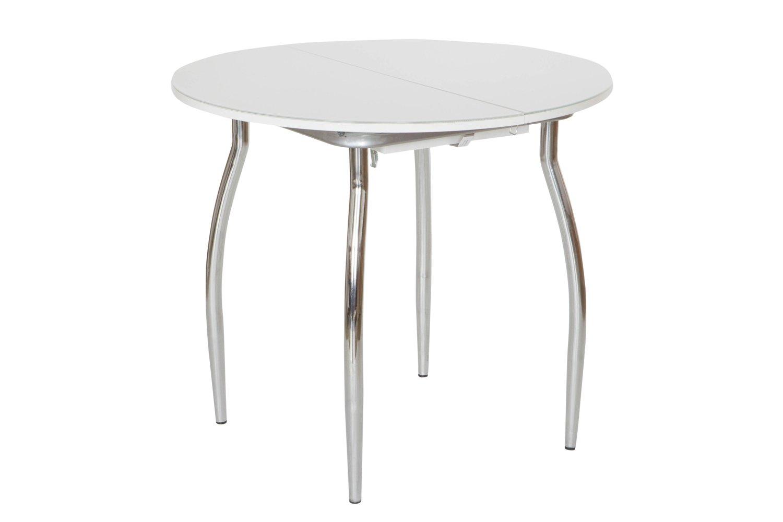 Кухонный стол Hoff 76х90х90 см, серебристый