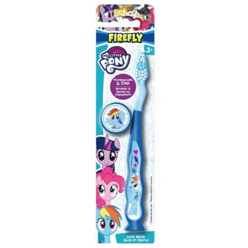 Детская зубная щетка Dr.fresh My little Pony мягкая на присоске с колпачком