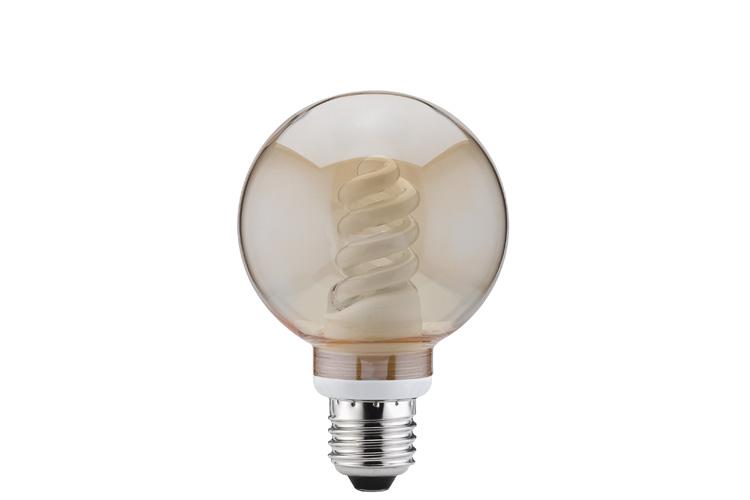 Лампа энергосбер. 10W E27 D=80 золото 87024
