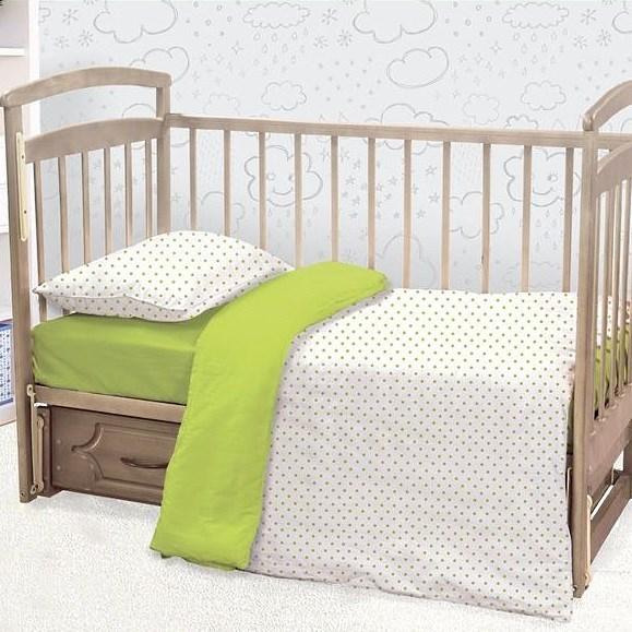 Детское постельное белье ЭТЕЛЬ Irving Цвет: Белый (112х147 см)