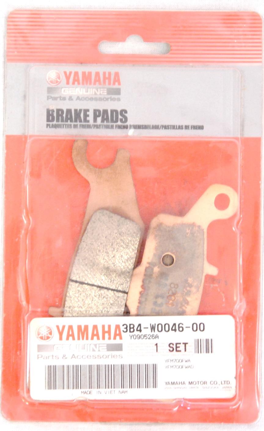 Тормозные колодки задние правые для квадроциклов Yamaha Grizzly 550/700 3B4-W0046-10-00