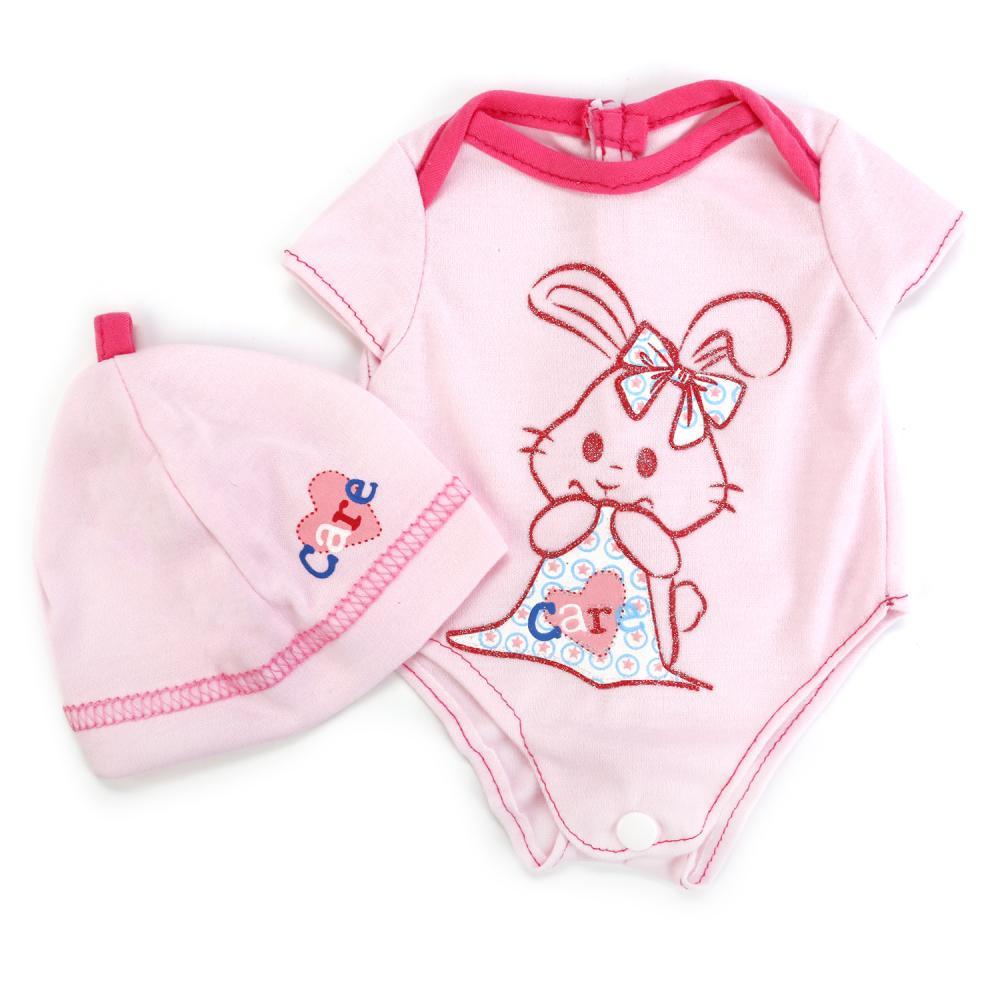 Купить Комплект одежды для кукол 40 42 см Карапуз OTF-BLC03-RU, Одежда для кукол
