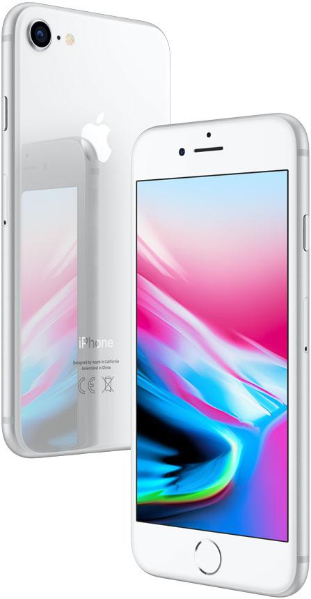 Смартфон Apple iPhone 8 128GB Silver (MX172RU/A)