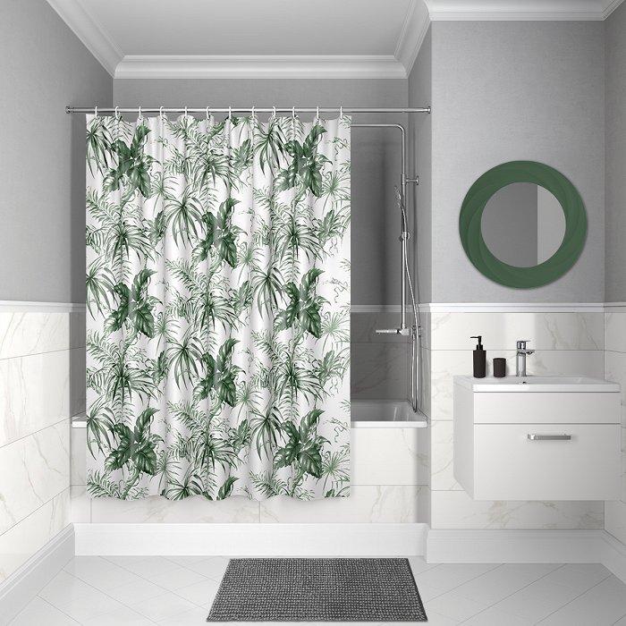 Штора для ванной комнаты IDDIS Décor D10P218i11