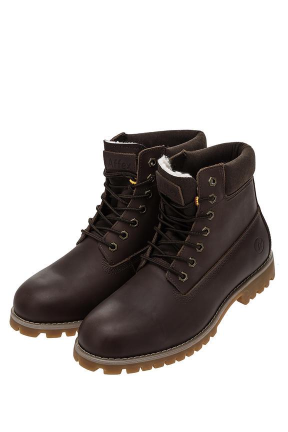 Ботинки мужские коричневые AFFEX 116-NWK-CHT-M