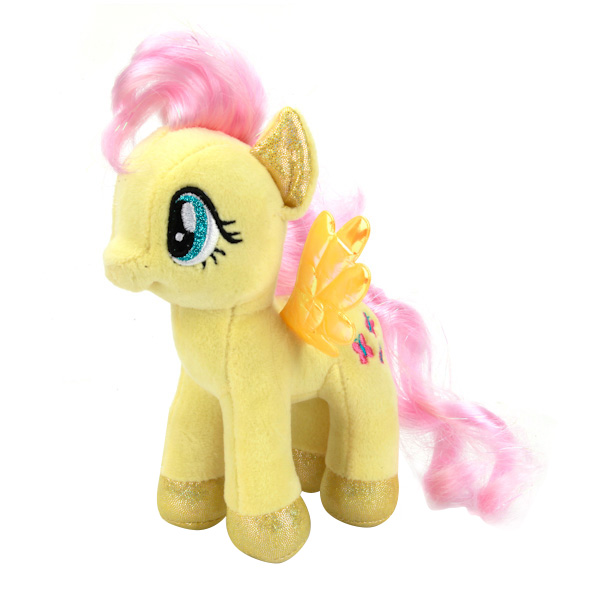 Мягкая игрушка Мульти-Пульти Пони флаттершай (my little pony) озвуч 18 см