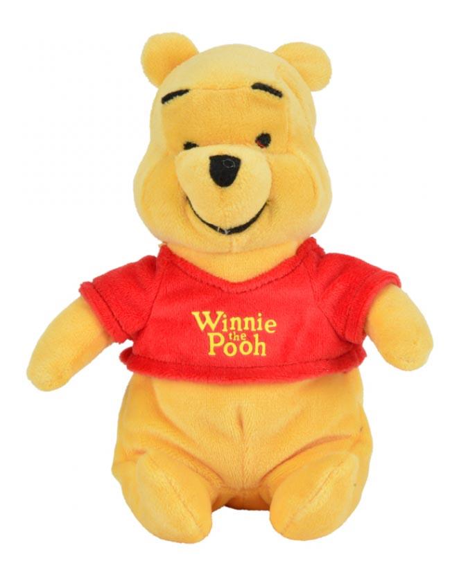 Мягкая игрушка Nicotoy Медвежонок Винни 20 см 1/24.