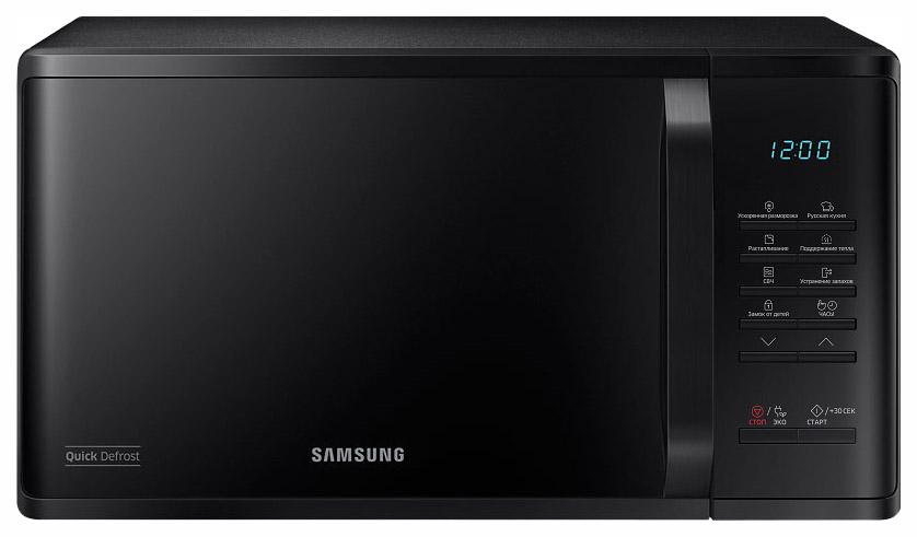 Микроволновая печь с грилем Samsung MG23K3513AK black фото