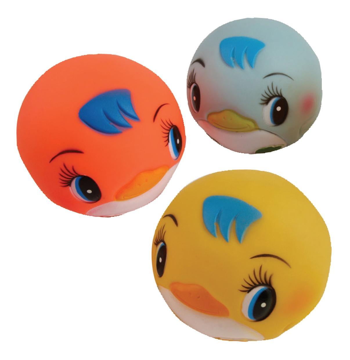 """Игрушка для ванной """"мячики-пингвины"""""""