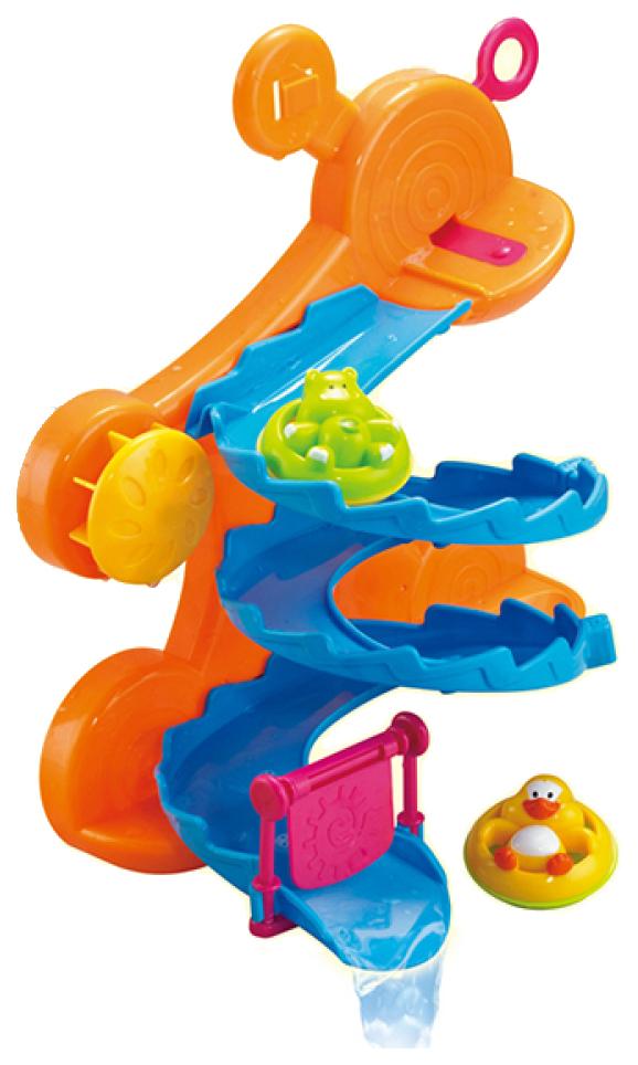 Купить Игрушка для купания ABtoys «Веселое купание» Горка для ванной PT-00540 3, 2х24х8 см, Игрушки для купания малыша