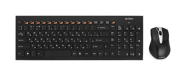 Комплект клавиатура и мышь A4Tech 9500F