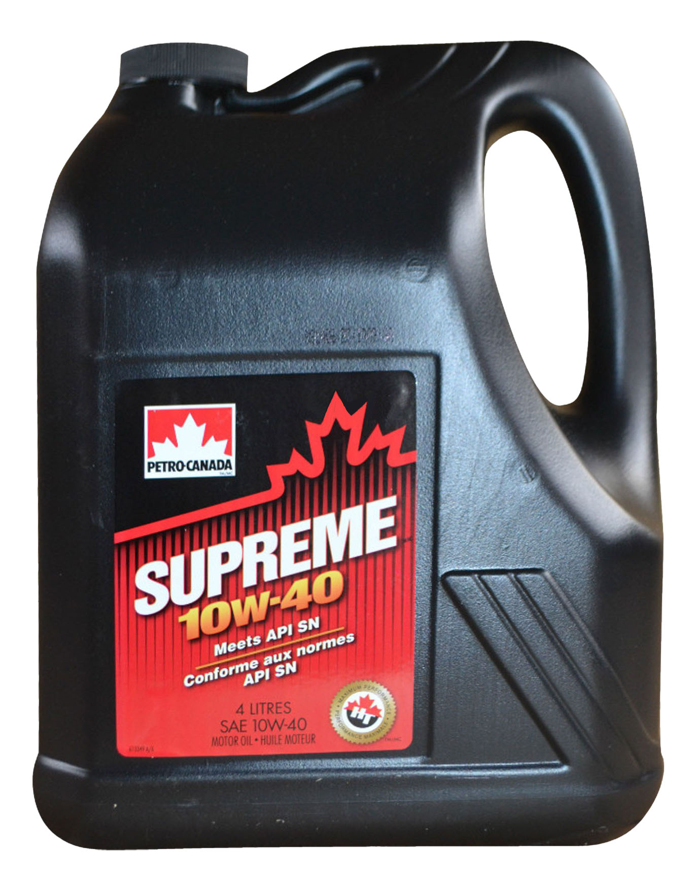 Моторное масло Petro-canada Supreme 10W-40 4л