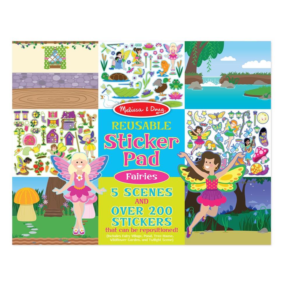 Купить Набор для творчества Melissa&Doug творчество Феи (8603), Melissa & Doug, Книги по обучению и развитию детей